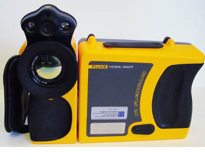 Image of a thermal imaging camera