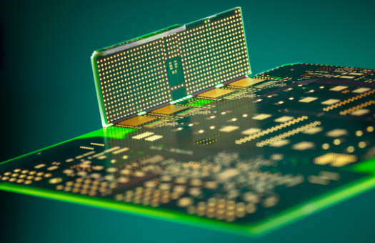 Photo of a multidimensional HSMtec PCB