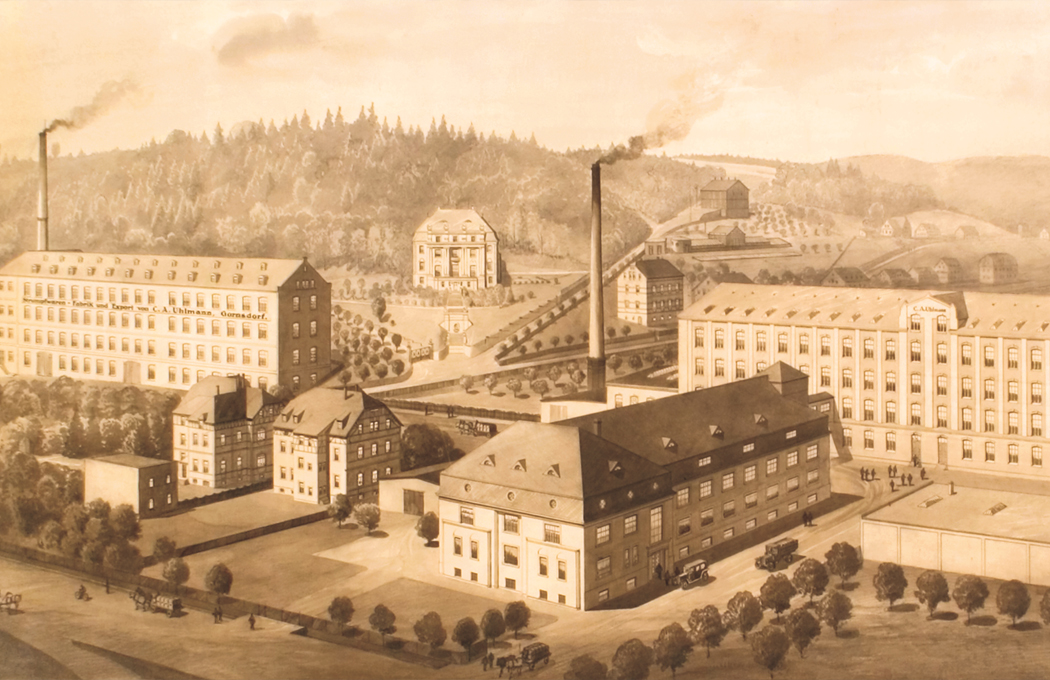 From a craft business to a stocking factory C. A. Uhlmann KG, later KSG Leiterplatten GmbH