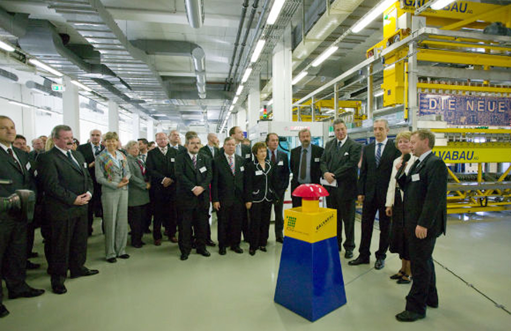 Start of modern production at the printed circuit board manufacturer in Gornsdorf