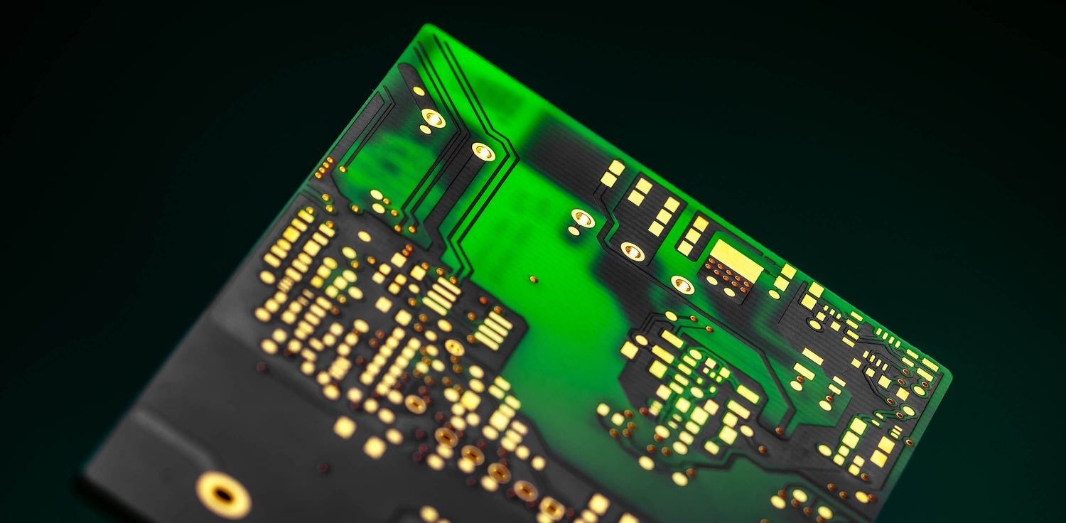Double-sided printed circuit boards