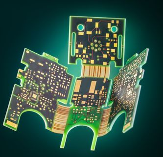 Semi-flex circuit boards