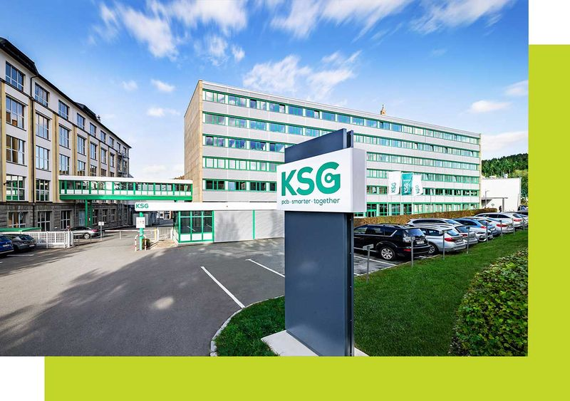 KSG printed circuit boards production facility in Germany
