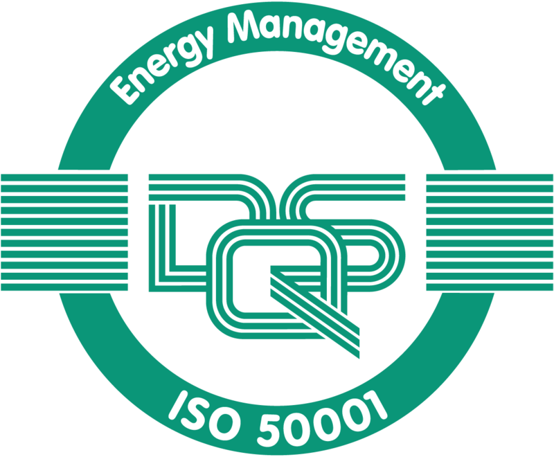 Graphic of the ISO 50001 seal