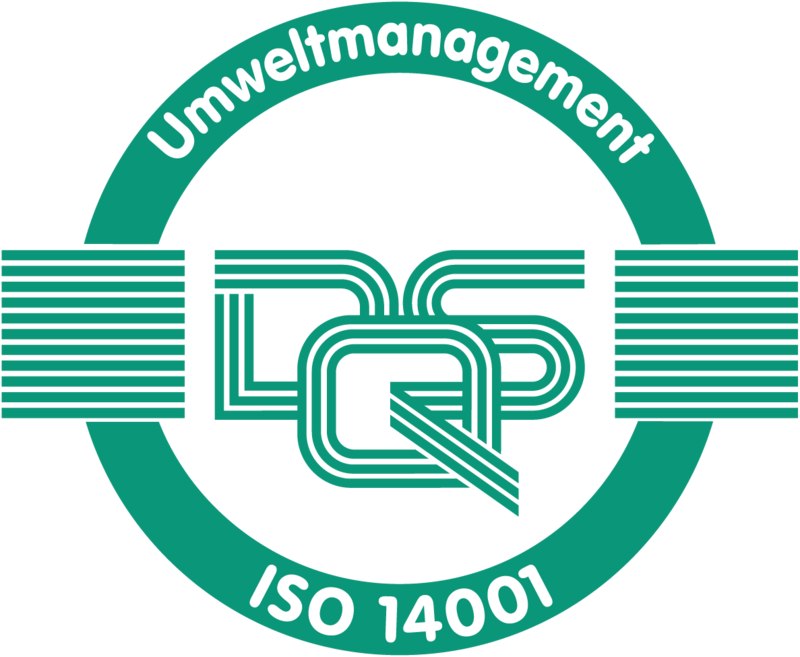 Graphic of the ISO 14001 seal